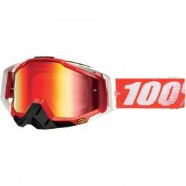 100% Racecraft Fire Red
