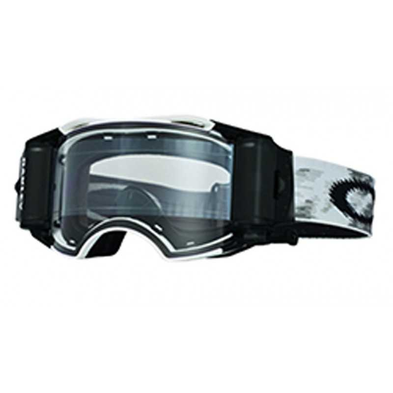 Oakley Airbrake MX Goggle (Matte White Speed) Clear Lens Inc Roll Offs